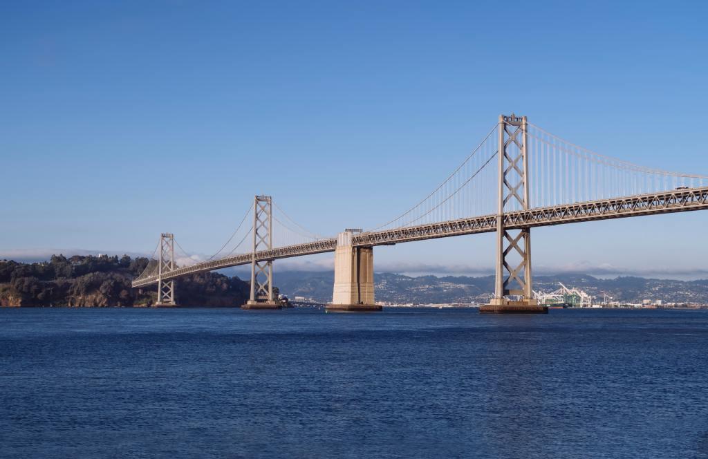 Bay Bridge, Oakland, California