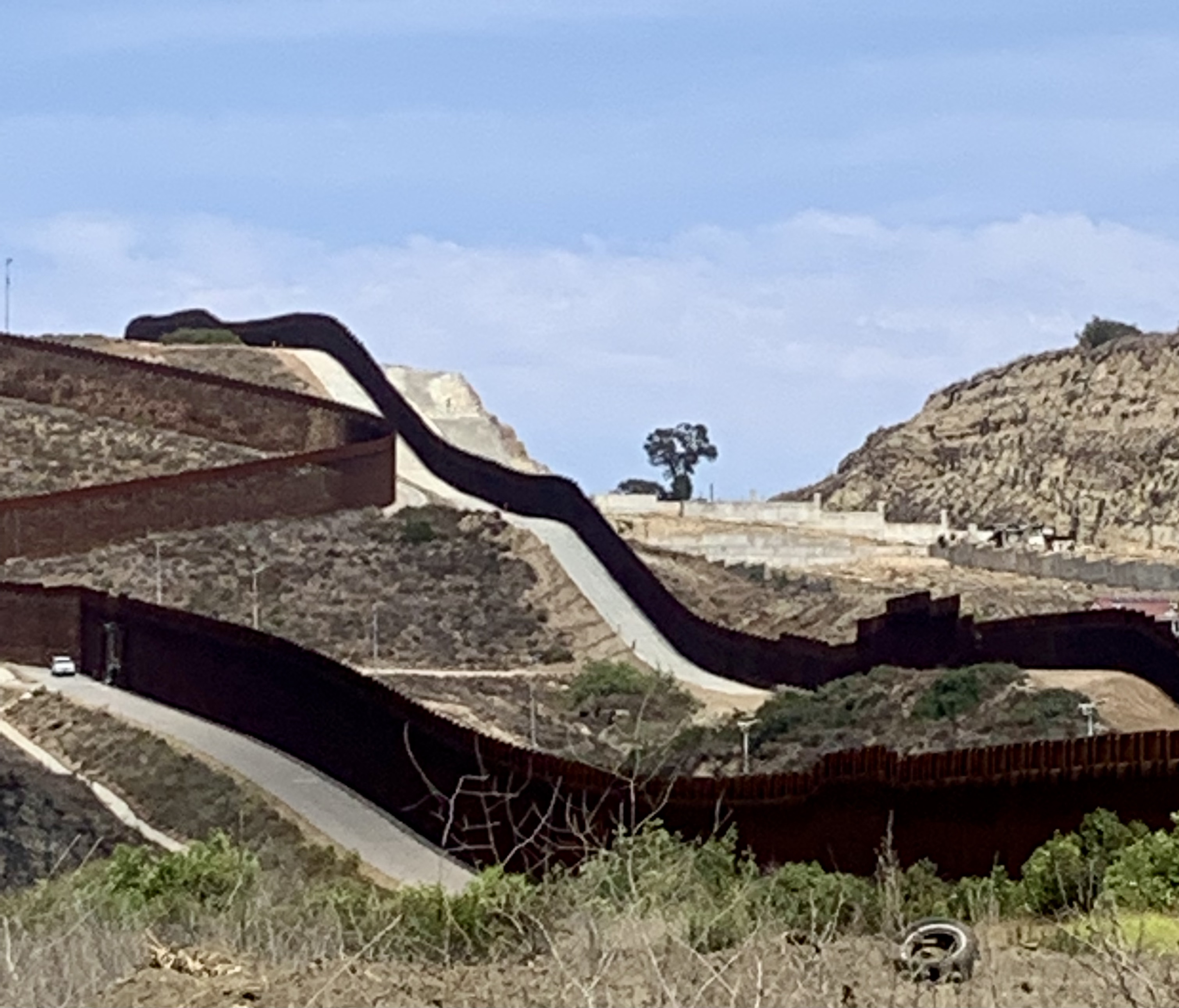 San Diego-Tijuana Border wall
