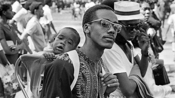 Attendees at Black Woodstock 1969
